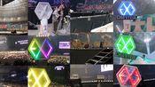 五周年贺频|EXO五巡首尔演唱会|exo-l6日合唱应援 大型女子天团合唱现场history Peter Pan tender love monster