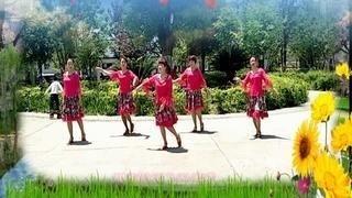 喜子广场舞队《我家在苗寨》编舞:菲菲