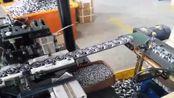轴承安装滚珠的生产线,无需人工都是机器工作