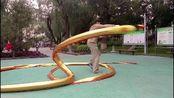 河北張崇友21米长龙精彩展示