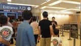 网友台北故宫偶遇沙溢一家 安吉长高不少