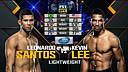 【UFC 194】莱昂纳多·桑托斯第一回合TKO凯文·李