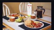 绵羊er·Vlog #40 加拿大旅行第二周 忙碌又充实! 奇异果葡萄橙子酸奶碗|美式早餐拼盘|香煎三文鱼|西冷牛排|尼亚加拉大瀑布|阿岗昆国家森林公园
