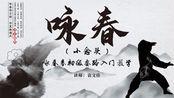 咏春(小念头)--咏春拳初级套路入门教学(第十五节)