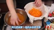 茼蒿胡萝卜土豆这样简单做一下,绿色营养又美味,专治伏天没胃口
