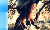 李晟最新时尚写真曝光 化身机车女散发摇滚魅力