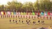 太原工业学院运动会开幕式,学子朝气蓬勃,还有机器人参加表演