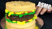 【lanieats】DESERT HAMBURGER CAKE 25K SUBS好吃的蛋糕真的声音(2019年8月9日14时43分)