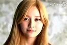 2014 学员张碧晨所在韩国组合单曲 这妹子真的不漂亮啊