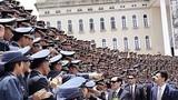 马英九主持黄埔建军90周年庆典 阅兵场面盛大