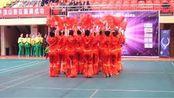 全国首届广场舞平顶山大赛任一村舞队欢聚一堂冠军