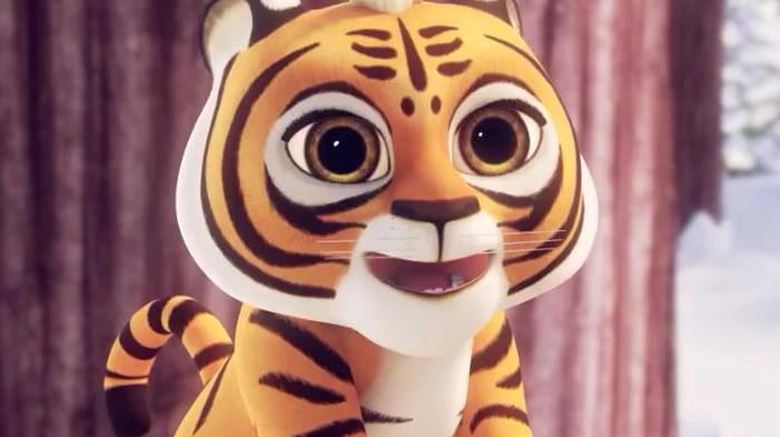 熊出没之探险日记:赵琳和光头强打雪仗的时候想起了虎妞,别担心