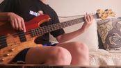 都选c 贝斯贝司bass cover 瞎编乱造,刚学salp