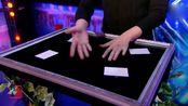 美国达人秀,号称天衣无缝的纸牌硬币魔术终于被揭秘了,原理竟如此简单!_1
