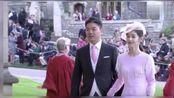 刘强东章泽天牵手出席英国皇室婚礼 夫妻关系稳固恩爱如初