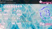 【osu】217pp 糊过246bpm串 La Grand Bleu [SHD] +DT 86.44% pass