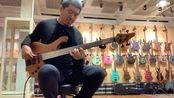 拿一万多欧元的 德国手工 lefay 无品 bass 练会琴
