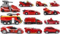 火红变形金刚机器人变形玩具嘉年华
