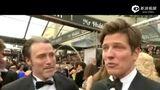 第86届奥斯卡金像奖红毯  《狩猎》男主麦斯-米科尔森接受采访