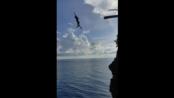 你可知道15米高跳海被鬼畜是什么感觉吗?爽的飞起