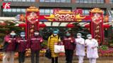 武汉协和西院湘雅病房首位新冠肺炎患者出院, 50个床位均已收满