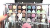 美妆 化妆 手提箱 护肤 化妆包 化妆箱 开箱 展示-美妆造型-浅晗雅爱萱宝贝