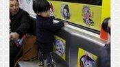杭州开通首辆动漫地铁专列