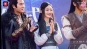 王鸥晒与刘恺威拍摄新戏《莽荒纪》美出新高度