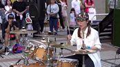 罗小白架子鼓演奏《青春修炼手册》,优美的旋律让人听了好愉悦