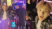 【BTS玧其】在说新年快乐突然被拽过去抱圈的其其哈哈哈