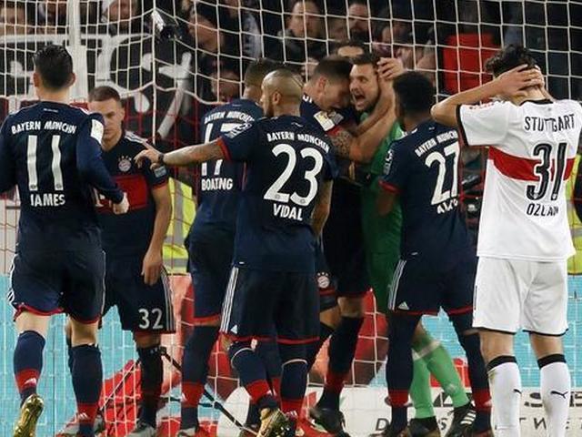 穆勒绝杀二号门神读秒扑点 拜仁1-0客胜