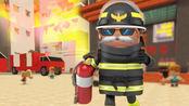 迷你世界 超级消防员,摩天大楼营救被困居民
