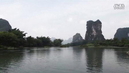 自然风光桂林阳朔河流小漓江风光(修改版)