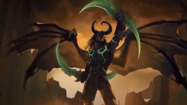 魔兽世界最新CG动画——伊利丹的愤怒:你们这是自选死路