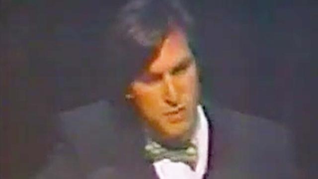 1984年1月24日苹果发布会 乔布斯展示mac 台下掌声雷动