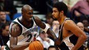 NBA第一摸头狂魔并不是邓肯,比他更甚的是加内特,邓肯是弟弟