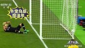 天下足球:2018足球场上的搞怪趣事,这守门员的脚法该练练了!