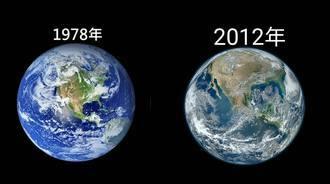 地球以前VS现在摧毁恐怖对照图,我们可能时间不多了