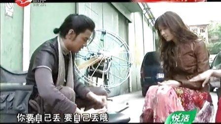 《刺陵》片场花絮;林志玲演打女