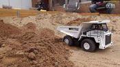 RC -仿真拖拉机 拖头模型dump truck ACTION! Overload and stuck at the construction site!—在线播放—优酷网,视频高清在线观看