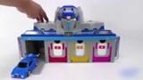 奇奇和悦悦玩具:最强战士之迷你特工队智能车库玩具!