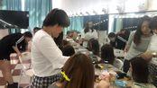 叶建美容美发化妆职业培训学校 化妆课堂