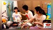 张丹峰求过父亲节儿子装傻女儿吃鱼吃到飞起来,网友:好幸福
