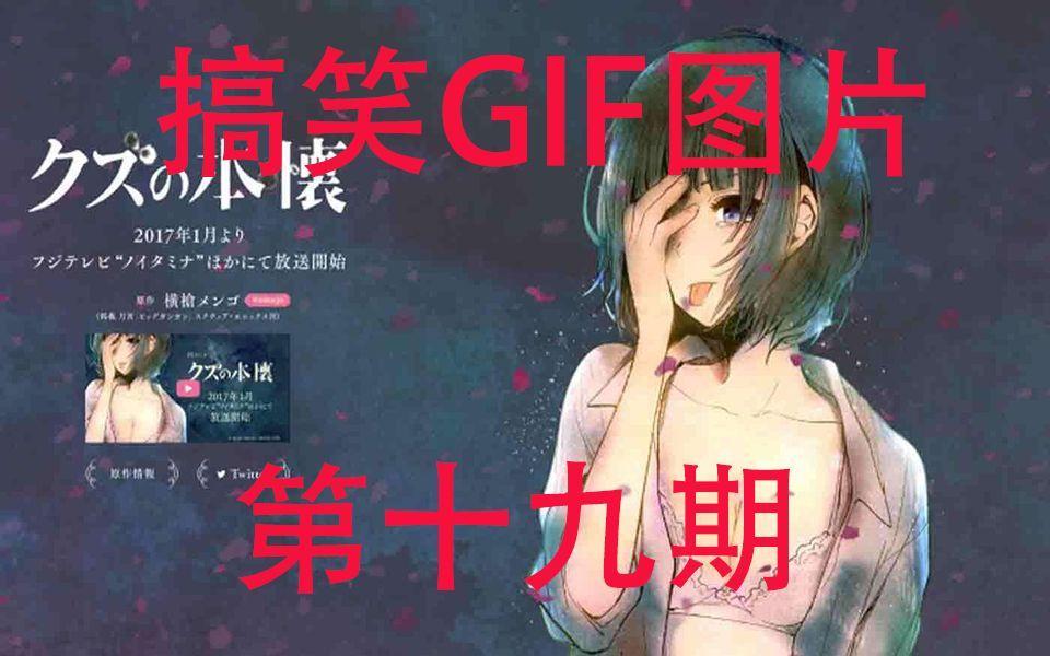【富江酱】GIF动态图片搞笑视频第十九期