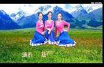 西安悠然广场舞《歌唱》藏族舞蹈 编舞 李雪