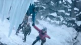 《冰峰暴》张静初飞跃冰崖险丧命