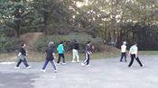 練習夢回雲南 Deeamig of Yunna Dance Line ( 夕陽廣場排舞 巴黎法國 )