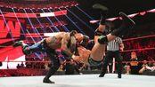 WWE:RAW德鲁·麦金泰尔VS里克赛,兰迪暗施RKO偷袭里克赛!
