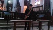 【古典萨克斯】J.S. 巴赫 - 大提琴组曲3号-- 库朗特和萨拉班德舞曲(次中音)