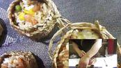 鑫食代特色小吃加盟培训:草袋饭的制作视频分享